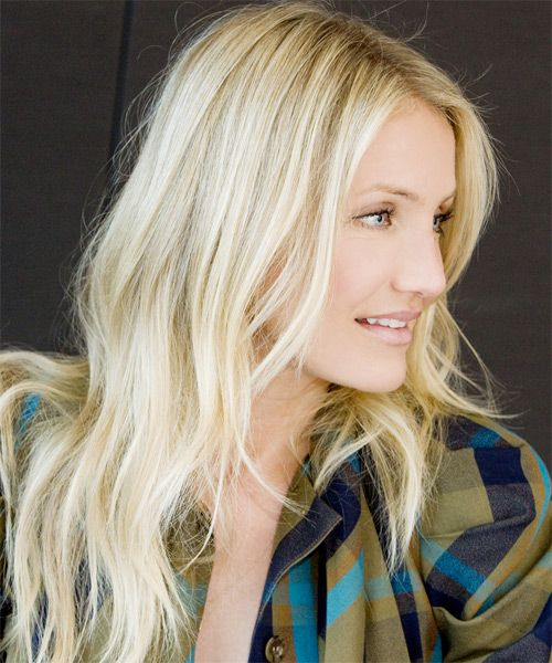 Long Layered Blond Hair - Cameron Diaz Hairstyles