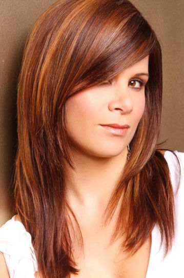 haircuts with side bangs and layers for medium hair 12 pretty layered hairstyles with bangs pretty 5226