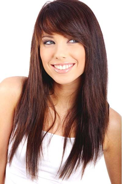 17 amazing long straight hairstyles for women pretty designs long straight hairstyle with side bangs urmus Images
