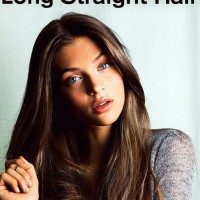 Long Straight Hairstyle for Thick Hair