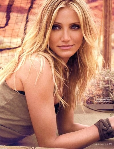 Long Wavy Cameron Diaz Hairstyle