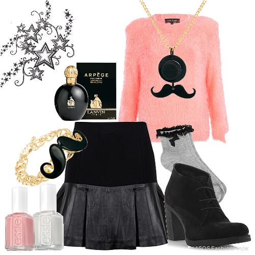 Lovely Fall Outfit Idea for Movember