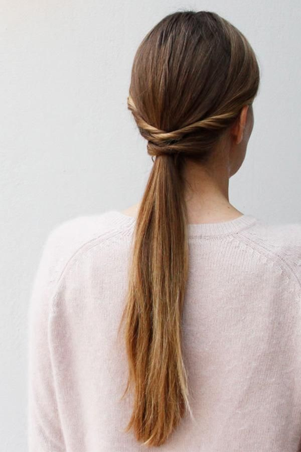 Lower Ponytail Hairstyle