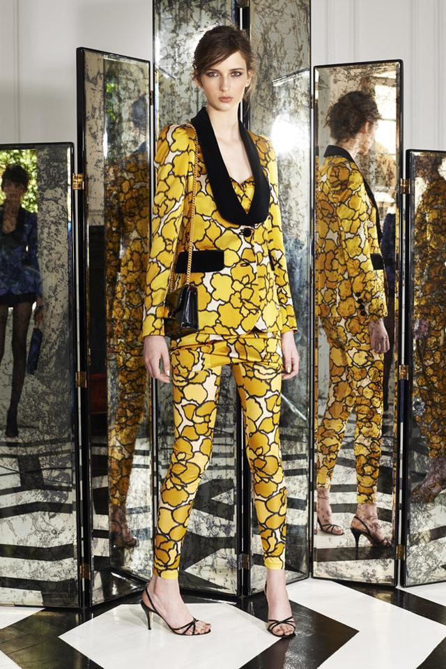 Mac Jacobs Floral Pantsuit