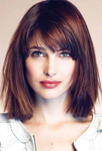 Swell 13 Fabulous Medium Hairstyles With Bangs Pretty Designs Short Hairstyles Gunalazisus