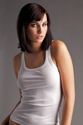 Medium Hairstyle With Bangs for Straight Hair