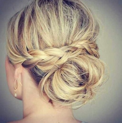 Wedding Party Hairstyle For Thin Hair: 20 Gorgeous Messy Wedding Updos