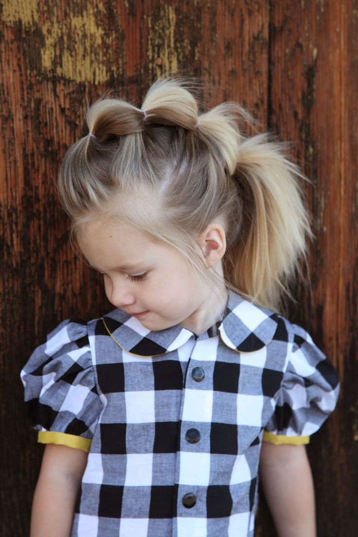 17 super cute hairstyles for little girls pretty designs. Black Bedroom Furniture Sets. Home Design Ideas