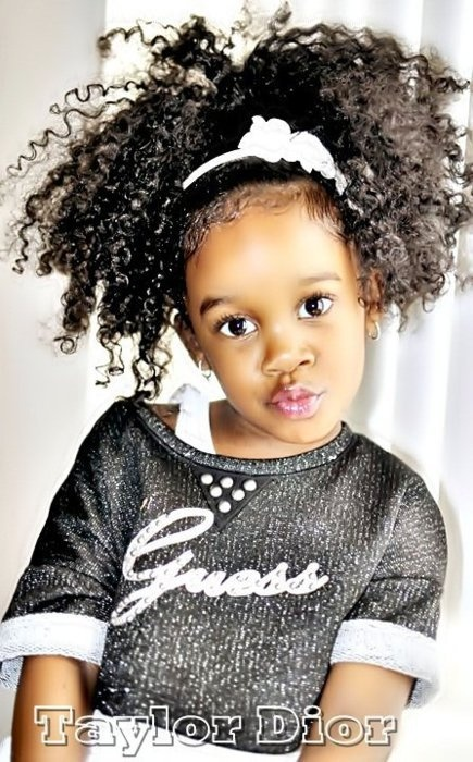 Incredible 14 Cute And Lovely Hairstyles For Little Girls Pretty Designs Hairstyles For Men Maxibearus