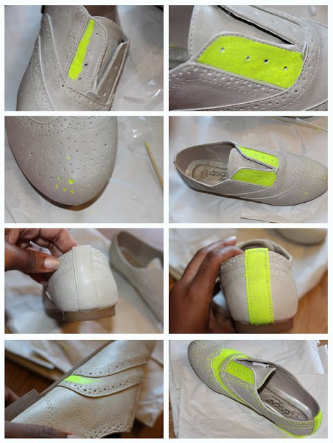 Neon Oxfords