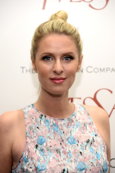 Nicky Hilton Top Knot