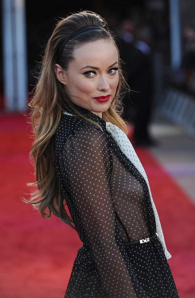Olivia Wilde Teased Hair