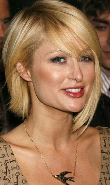 Paris Hilton Short Bob Hairstyle
