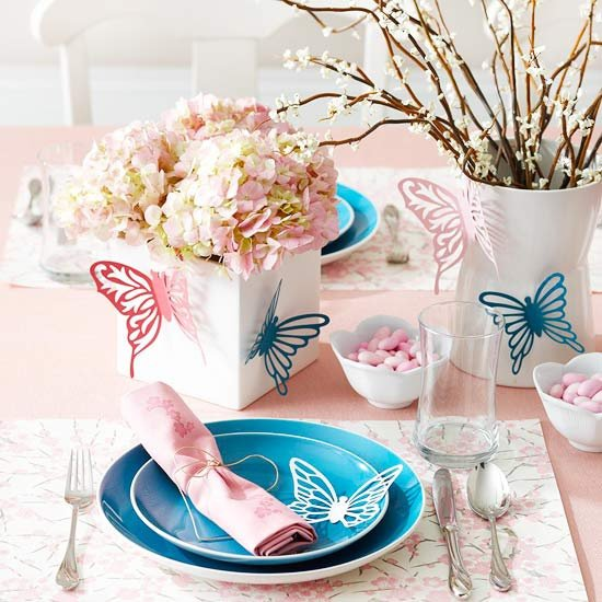 Pink and White Flowers for Table Decoration