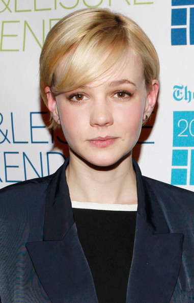 Pixie with Short Side Part