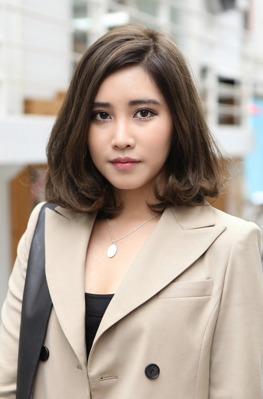 Fine 55 Super Hot Short Hairstyles 2016 Layers Cool Colors Curls Bangs Hairstyle Inspiration Daily Dogsangcom