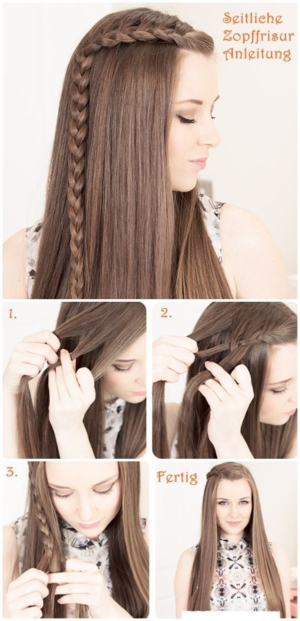 Pretty Braided Hairstyle Tutorial For Long Hair