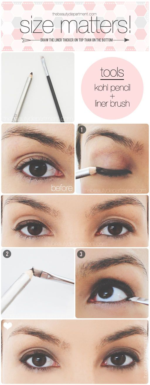 10 Ideas On How To Apply Bottom Eyeliner