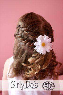 Fabulous 17 Super Cute Hairstyles For Little Girls Pretty Designs Hairstyles For Women Draintrainus