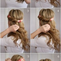 Pretty Headband Hairstyle