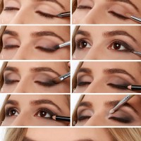 Pretty Light Smoky Eye Makeup Tutorial