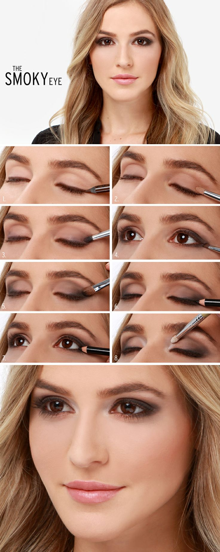 11Perfect Smoky Eye Makeup Tutorials For Different
