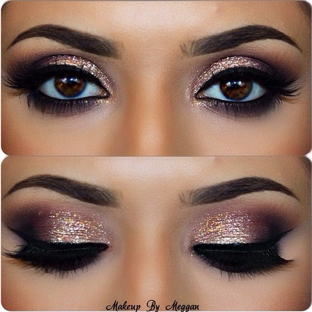 10 Shimmery Eye Makeup Ideas For Special Occasions - Pretty Designs