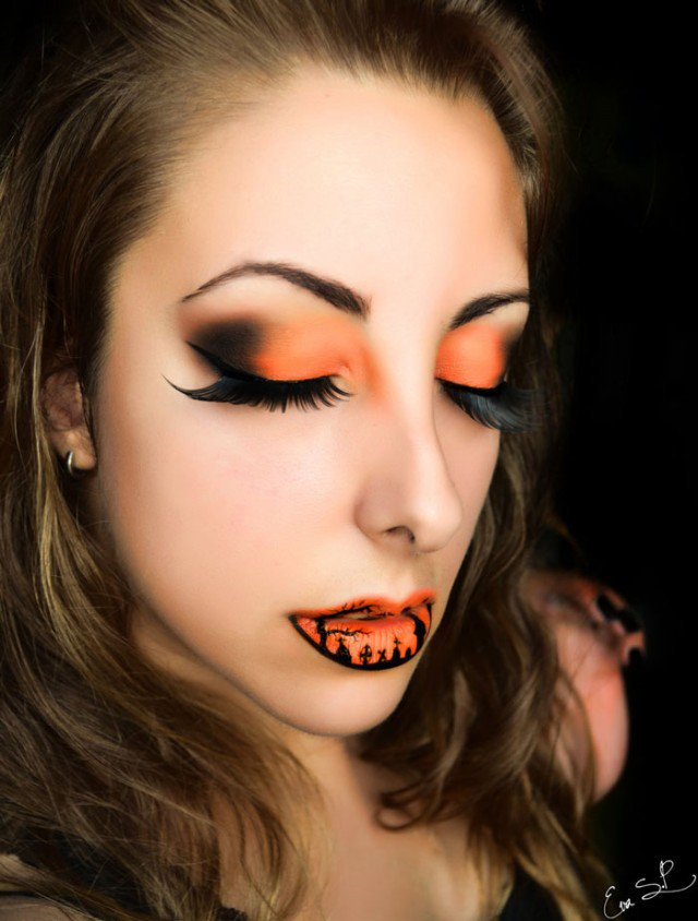 Awesome Halloween Inspired Makeup Ideas - harrop.us - harrop.us