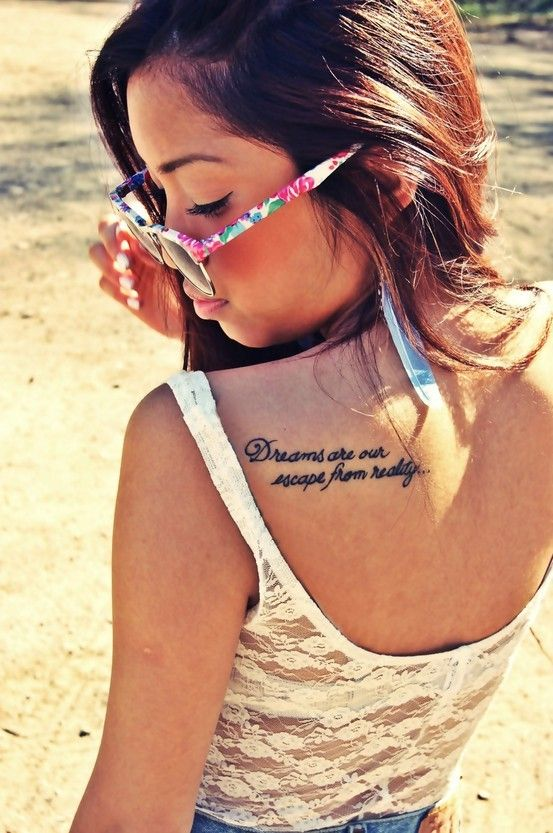 12 Super Simple Quote Tattoos For Girls Pretty Designs