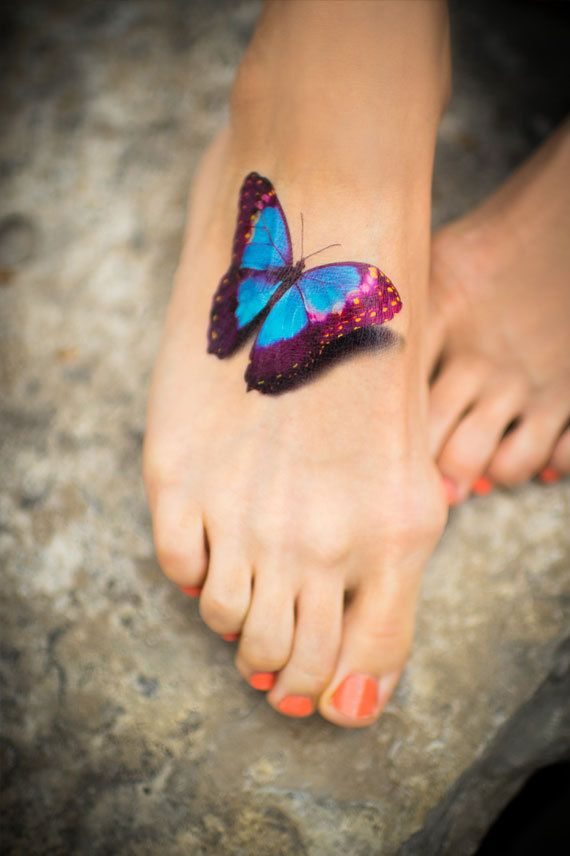 15 latest 3d butterfly tattoo designs you may love pretty designs - Tatouage de papillon ...