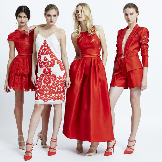 Red Dresses by Zuhair Murad