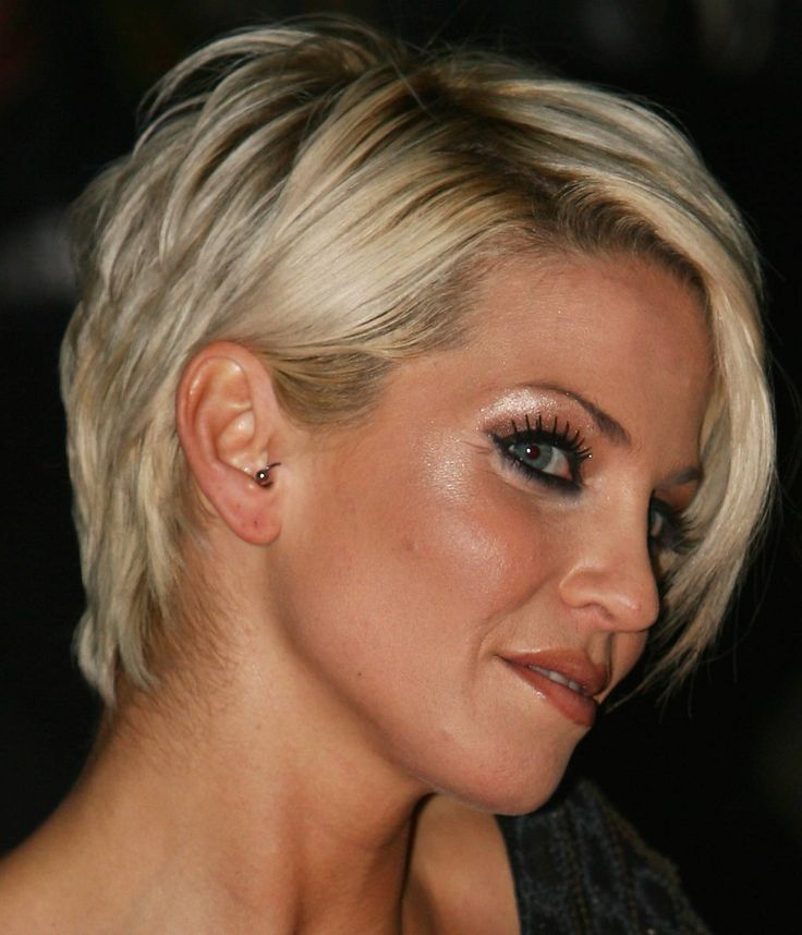 Sassy Short Hairstyle for Women Over 40