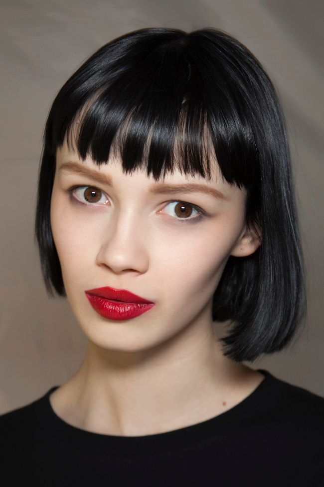 Short Hairstyles With Bangs models hairstyle