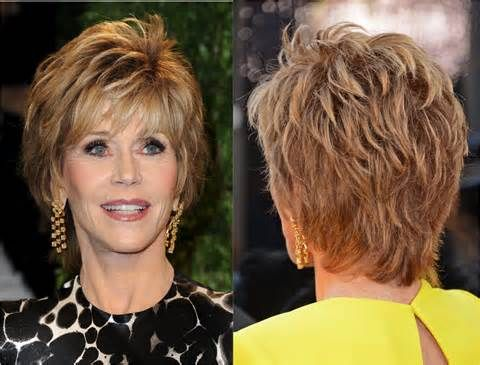Short Brown Hairstyle For Women Over 50