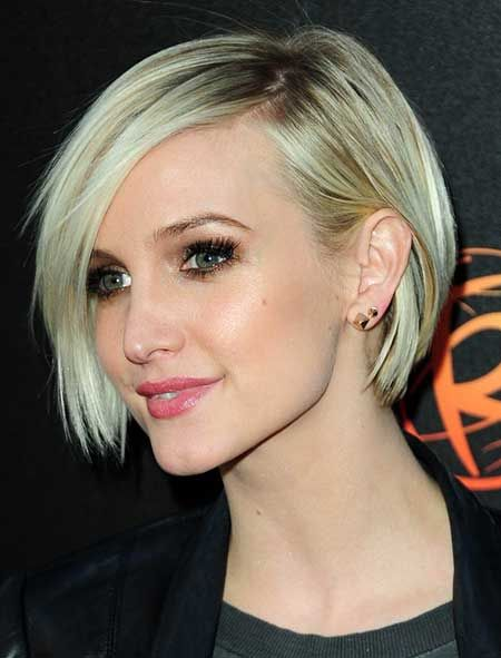 Short Layered Bob Straight Hairstyle Pinterest