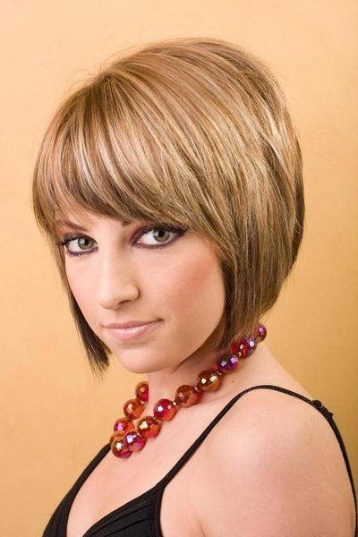 Hairstyles For Short Layered Hair With Side Bangs : 12 Great Short Hairstyles With Bangs - Pretty Designs