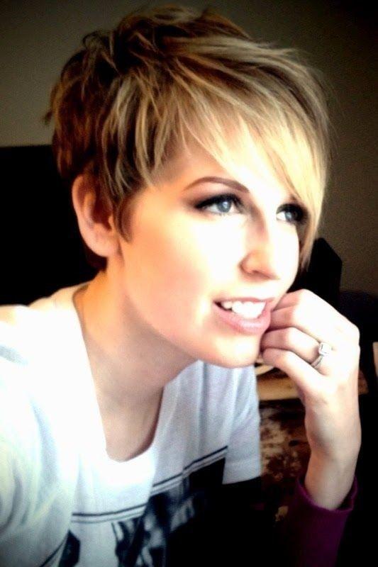 Short Layered Pixie Haircut