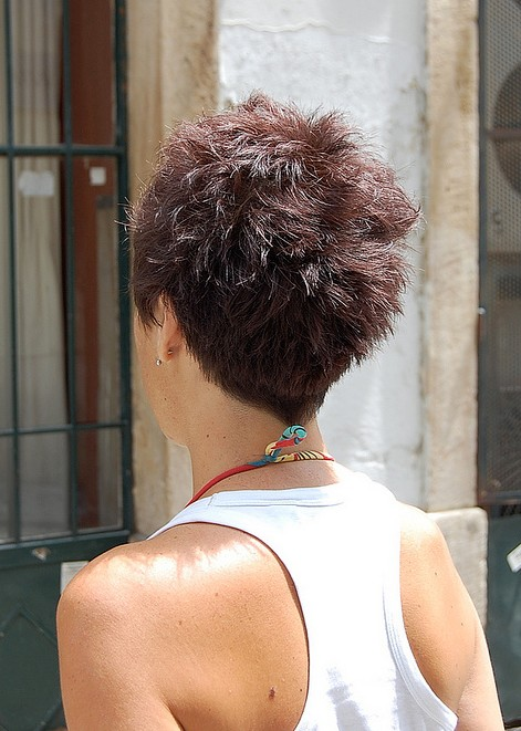 Swell 55 Super Hot Short Hairstyles 2016 Layers Cool Colors Curls Bangs Short Hairstyles Gunalazisus
