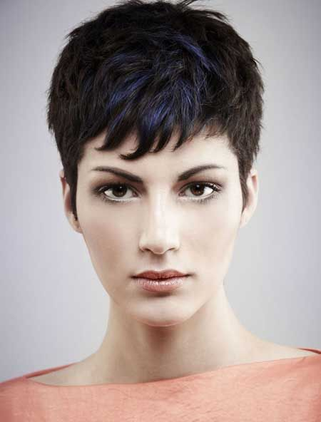 Short Pixie Haircut for Thick Hair/Pinterest