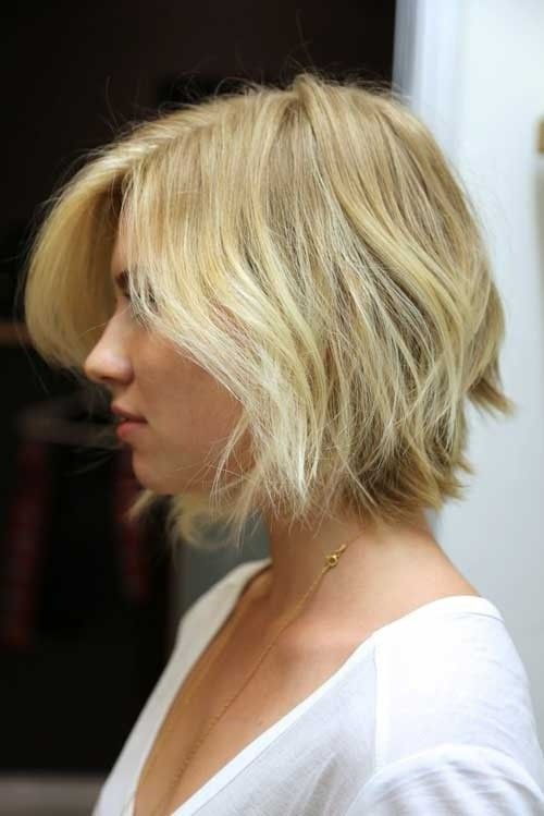 Short Shaggy Hairstyle for Blond Hair 4081455887648764