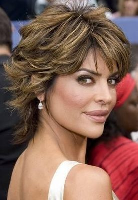 Shag Hairstyle Short Haircuts for Women Over 50