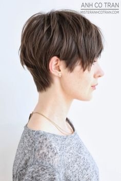 Short Shaggy Hairstyle for Straight Hair 156781630752513839