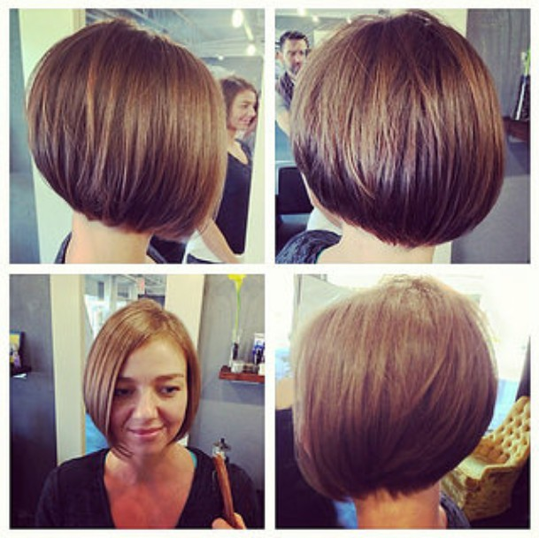Latest Chic Bob Hairstyles For Pretty Designs - Short hairstyle bob cut