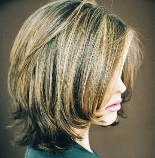 ... - Bob Hairstyles With Layers Shoulder Length Layered Bob Hairstyles