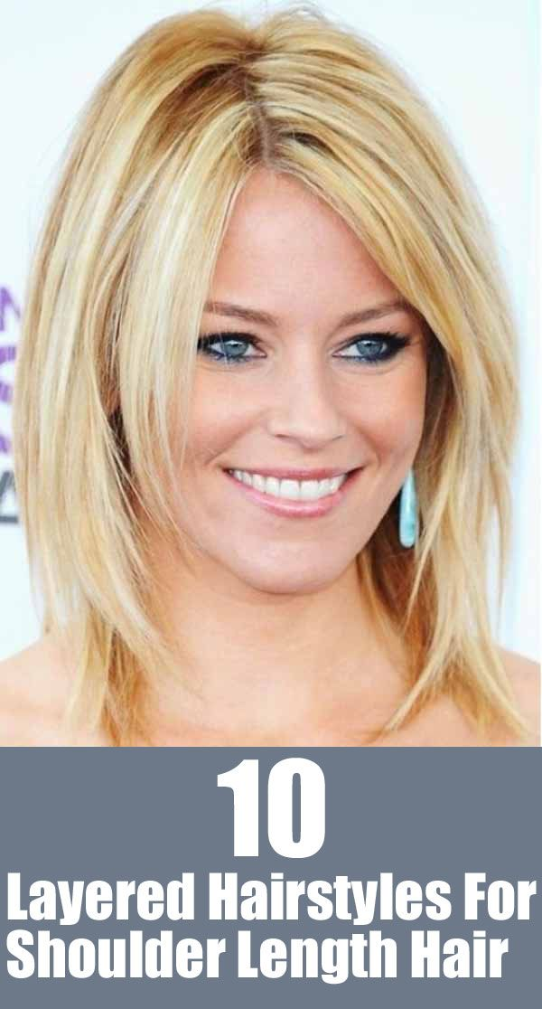 Shoulder Length Layered Hairstyles for Thin Hair
