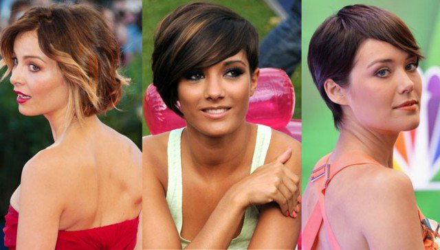 Side-parted Short Hairstyles