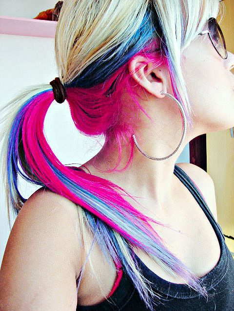 16 Amazing Colored Hairstyles - Pretty Designs - photo#12