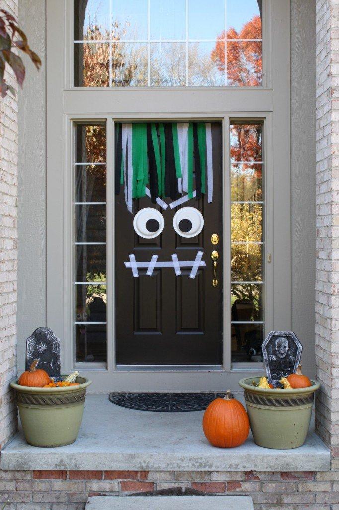 Simple Halloween Porch