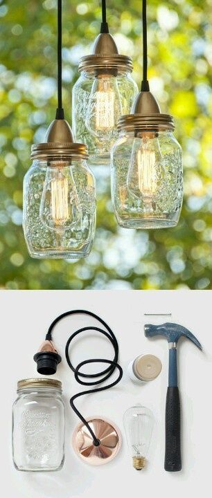 Simple Jar Lights