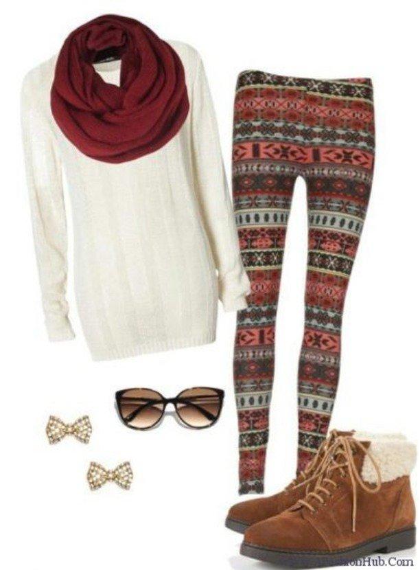 Simple Leggings Outfit Idea